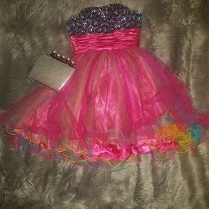 Teen party dress